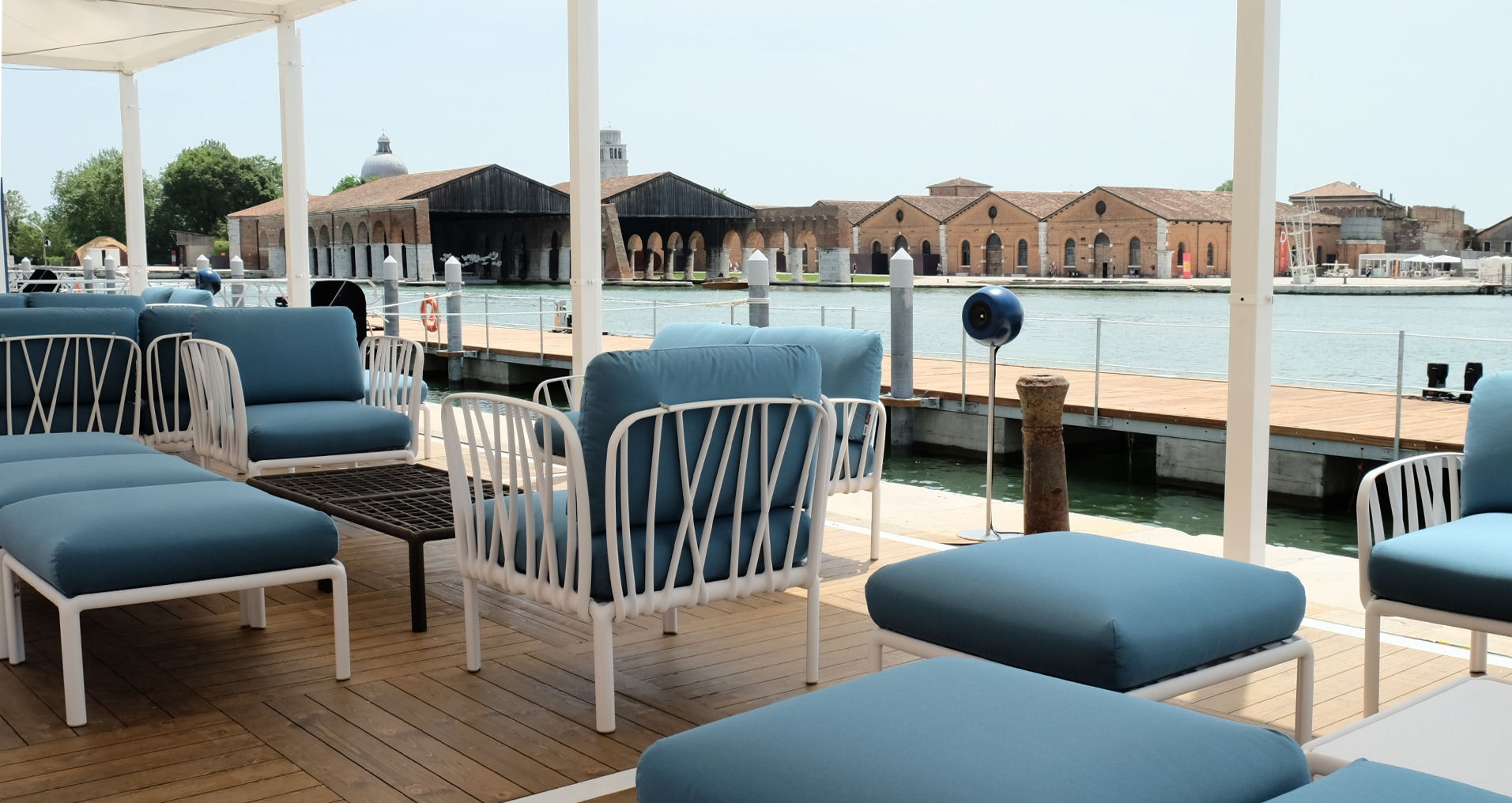 Audio engineering Riva Super Yacht Venice